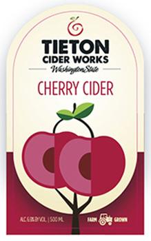 Tieton Cherry Cider
