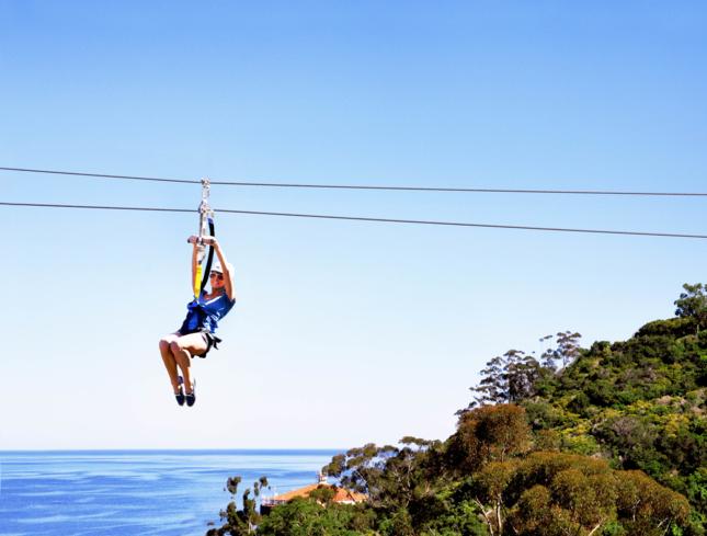 Zip Line Catalina Island