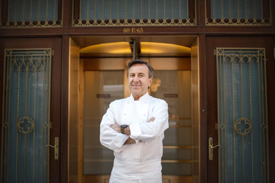 Chef Daniel Boulud (Photo by Daniel Krieger)