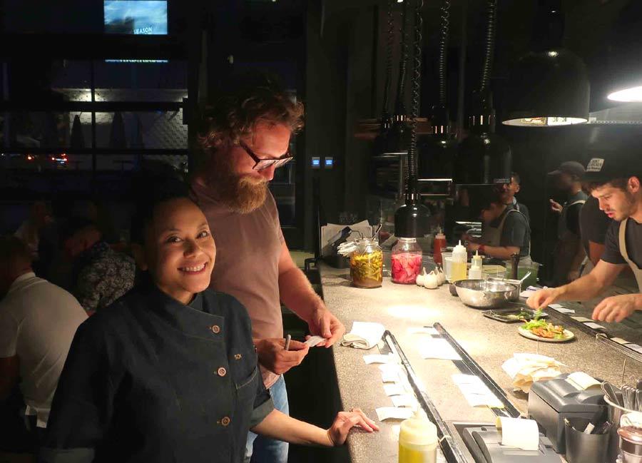 Tesse chef Raphaël François & pastry chef Sally Camacho