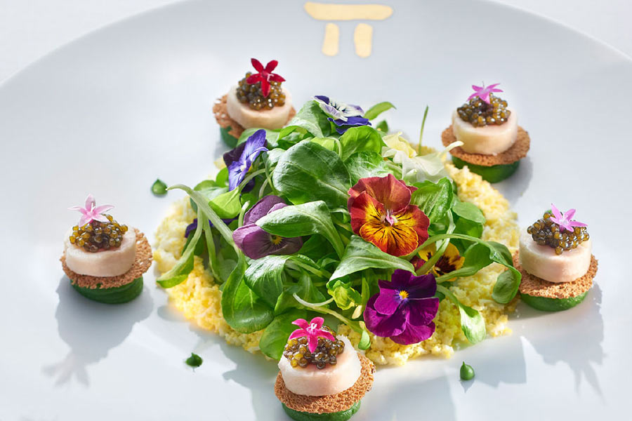 Salad from Twist by Pierre Gagnaire