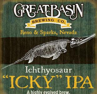 "Great Basin Ichthyosaur ""Icky"" IPA"