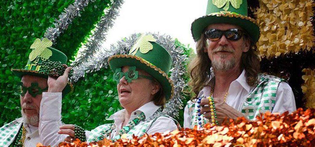 New Orlean's St. Patrick's Day Parades