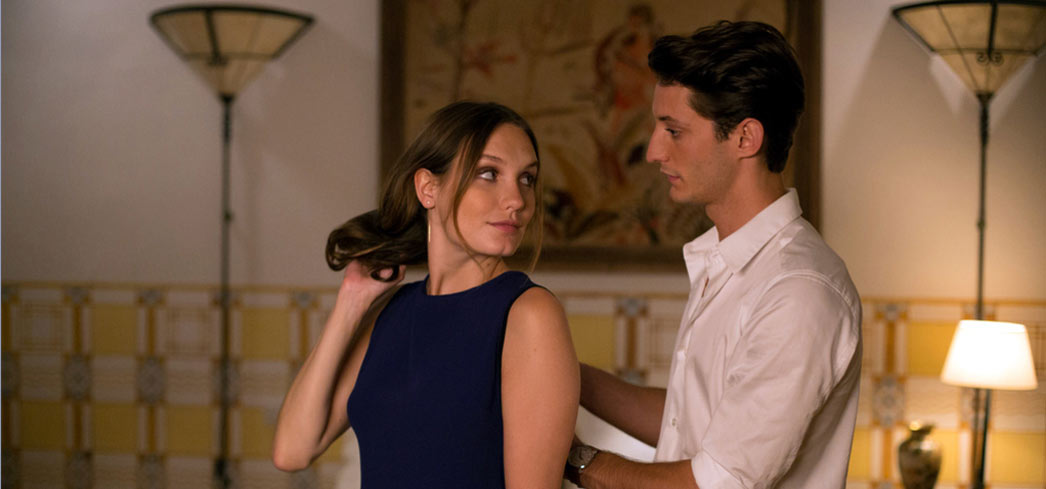 Ana Girardot and Pierre Niney in A Perfect Man