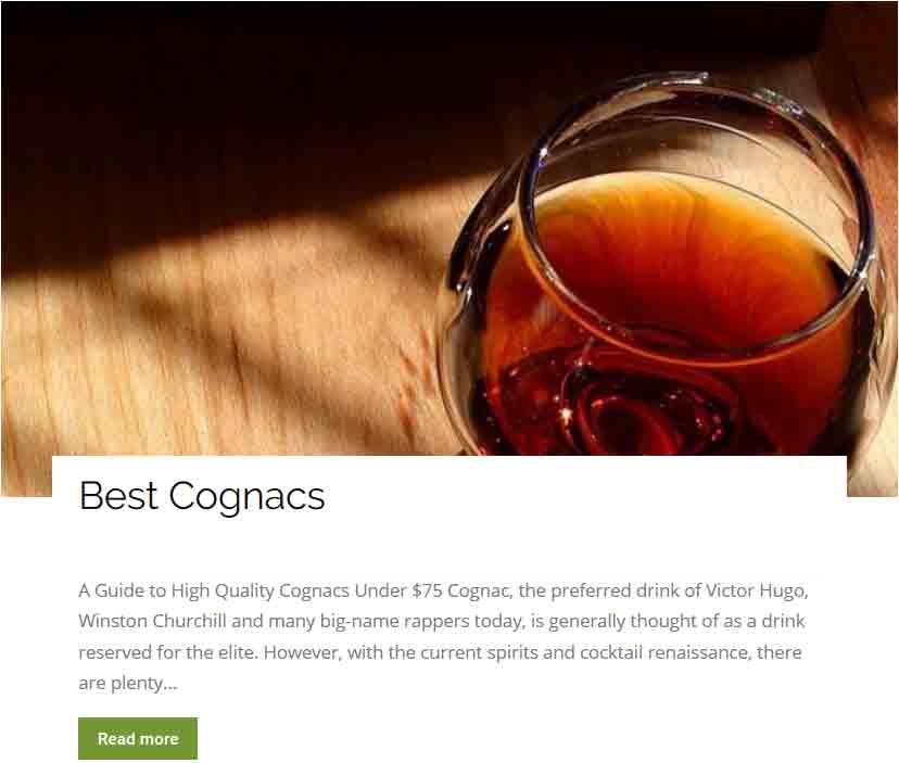 Best- Cognacs