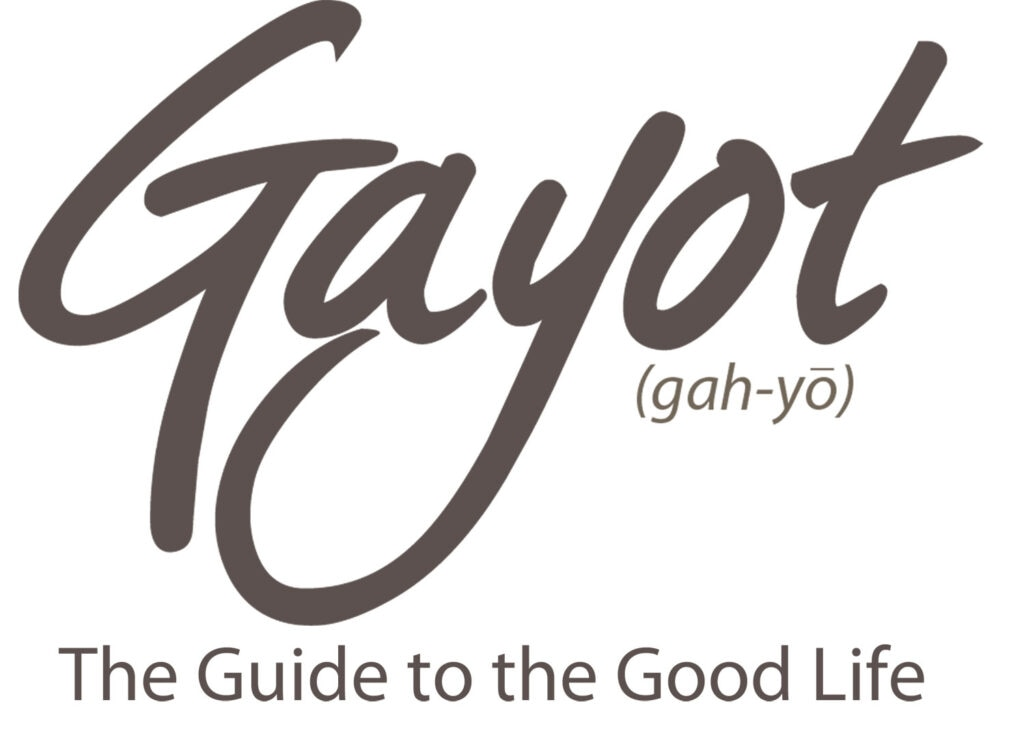 GAYOT The Guide to The Good Life