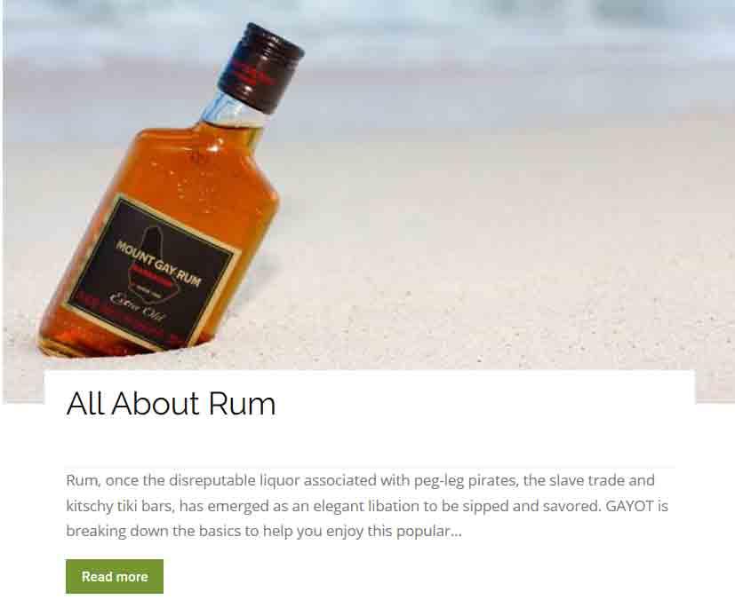 Intro to rum