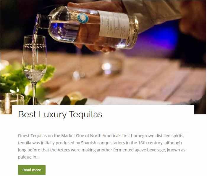 Best Luxury Tequilas