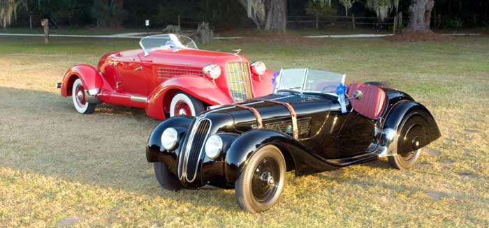 Expect vintage vehicles during the Hilton Head Concours d'Élegance