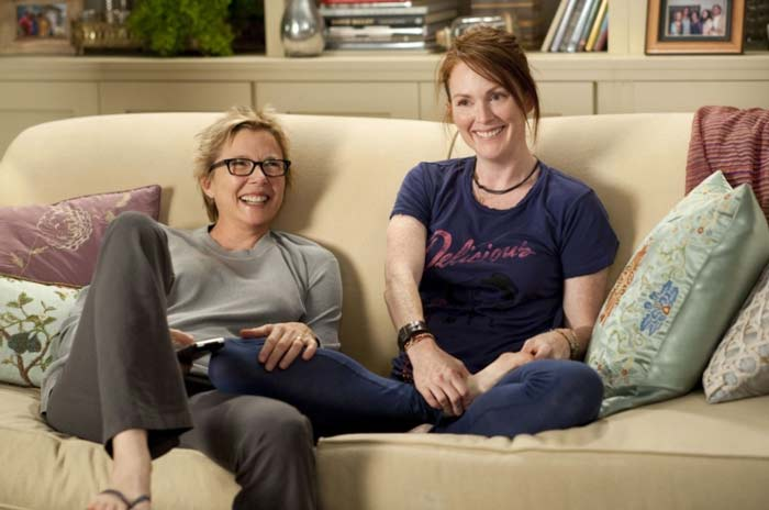 Julianne Moore and Annette Bening in The Kids Are All Right