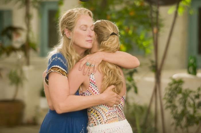 Meryl Streep and Amanda Seyfried in Mamma Mia!