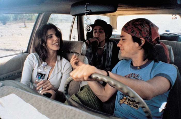 Maribel Verdú, Diego Luna and Gael García Bernal in Y Tu Mamá También