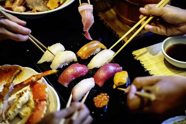 Find the best sushi restaurants near you