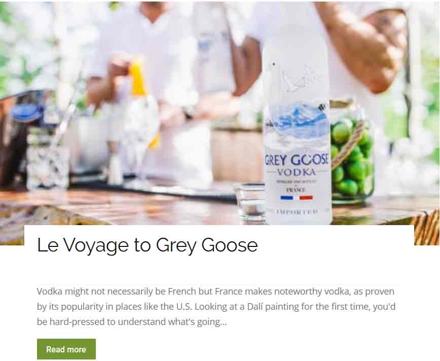 A tour of Grey Goose in France
