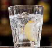 Becherovka cocktail