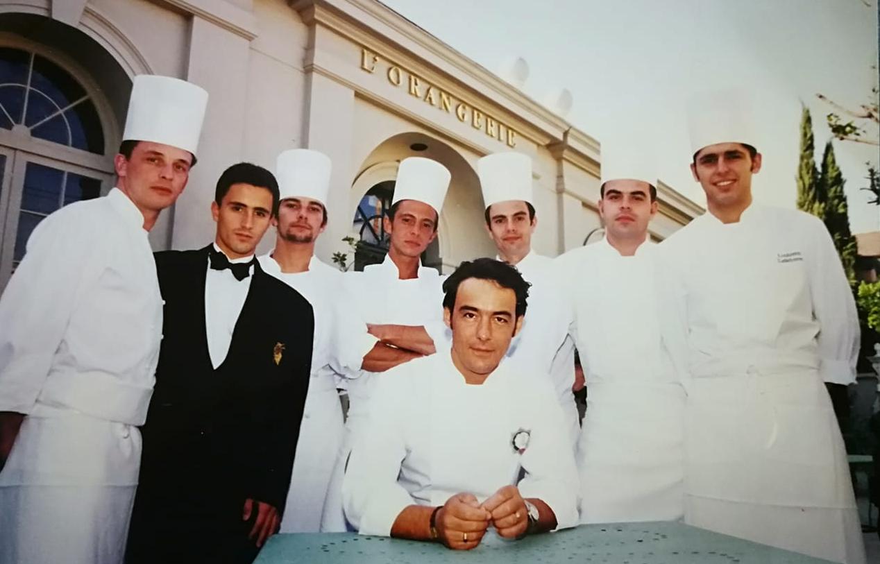 L'Orangerie restaurant Gilles Epié Ludo Lefebvre