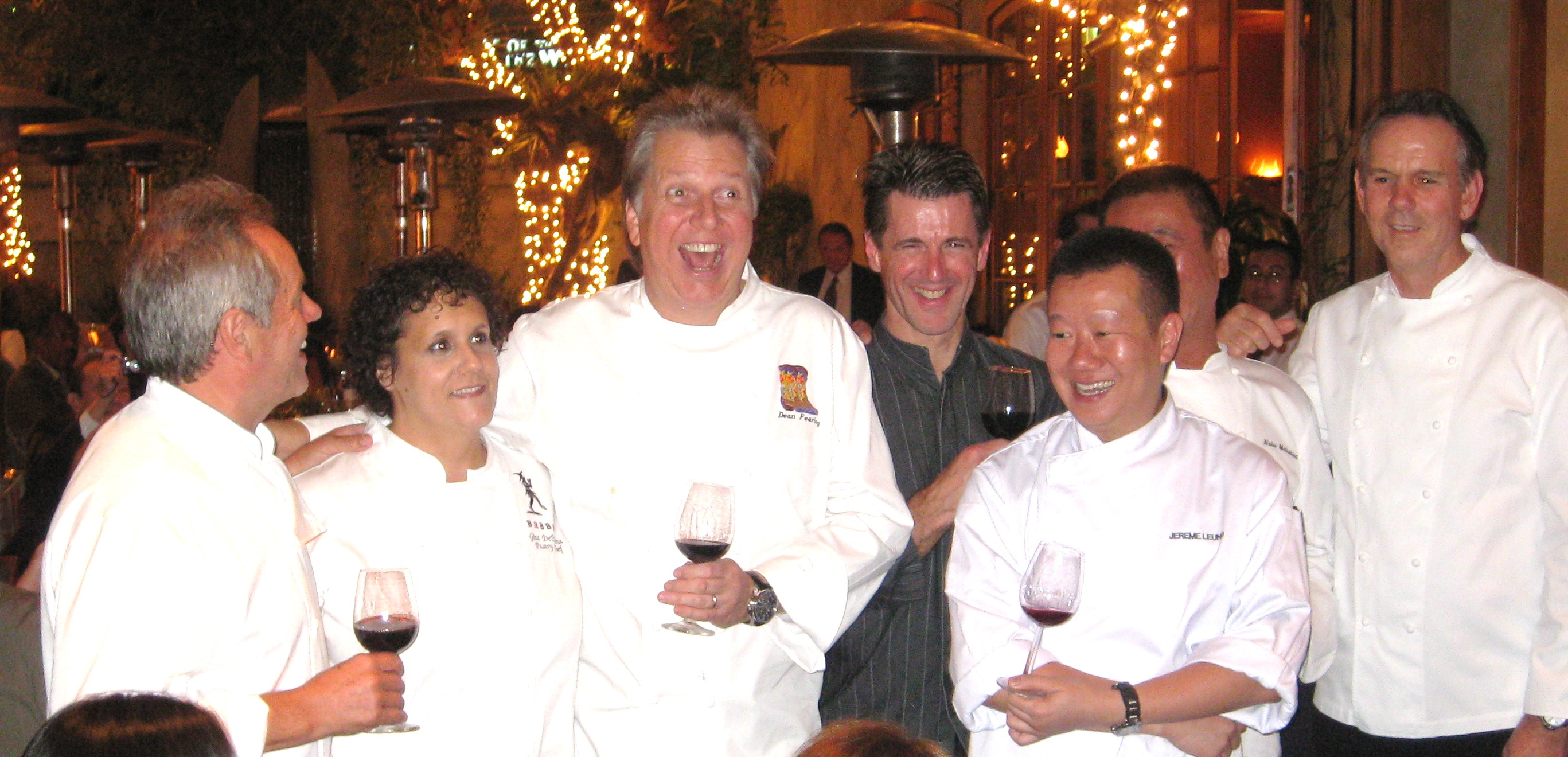 The chef's team of the evening