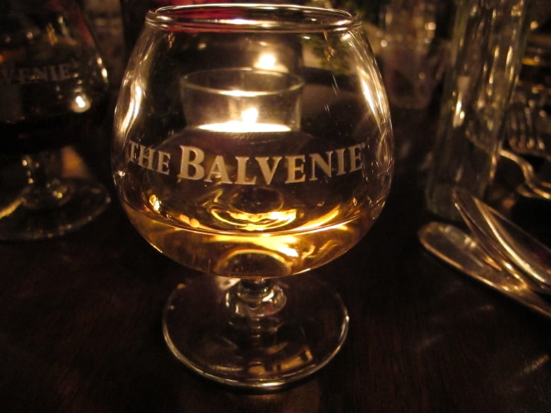 The Balvenie glass