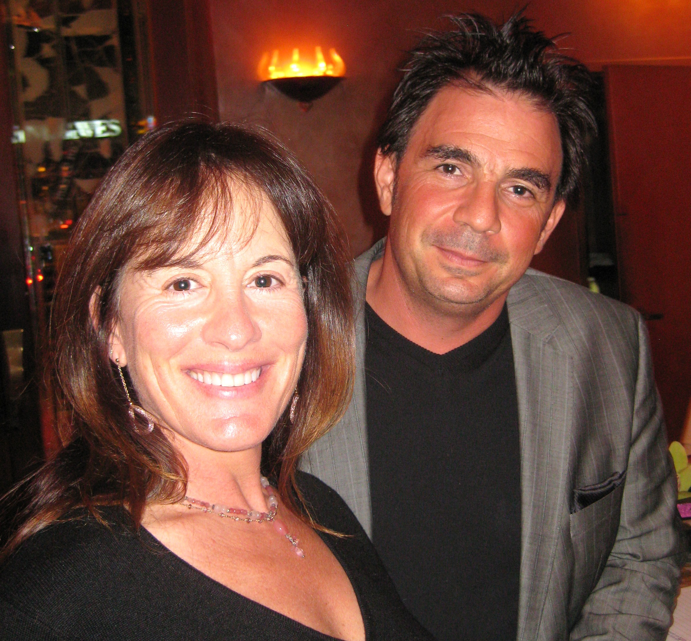 Chef Josiah Citrin of Melisse restaurant with wife