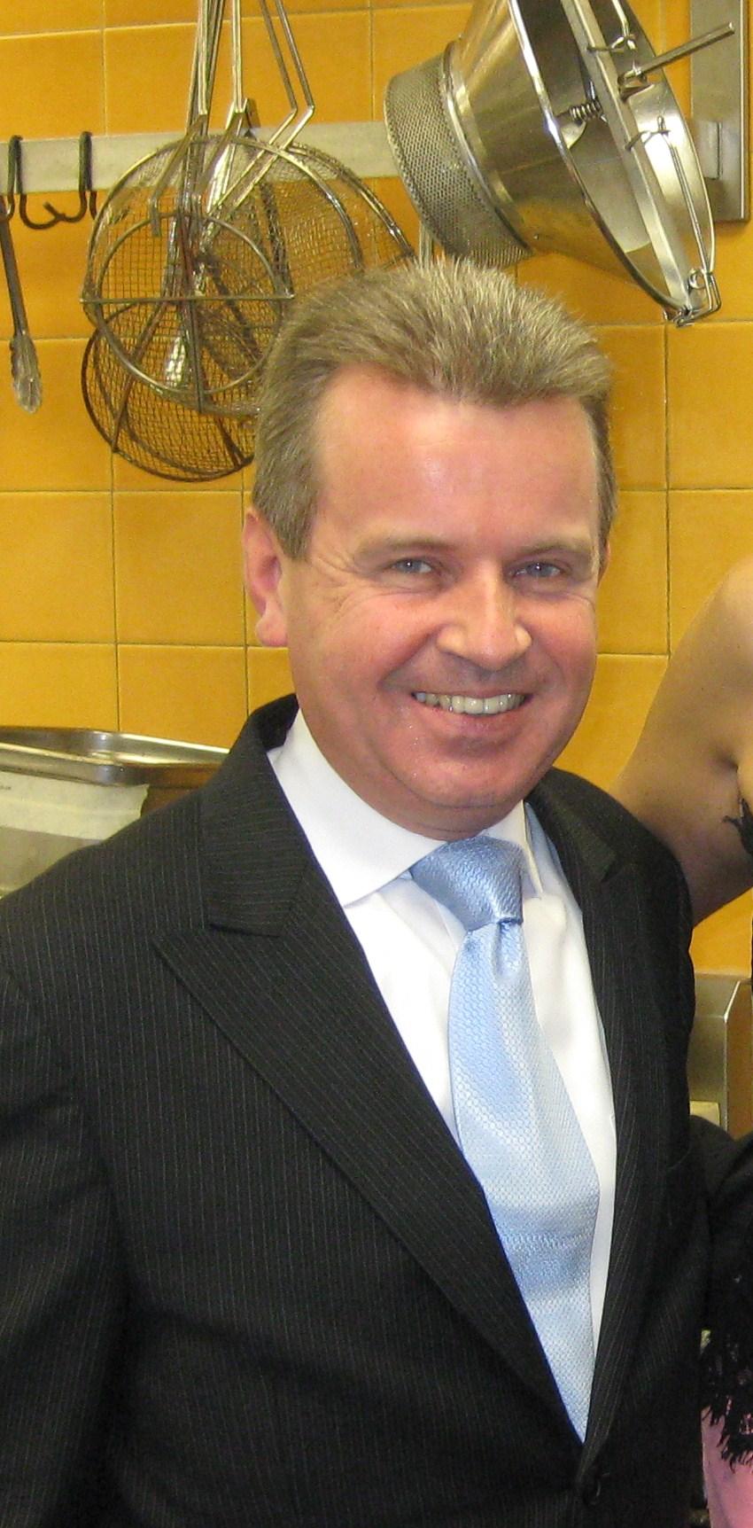 Spago general manager Laurent Steunou