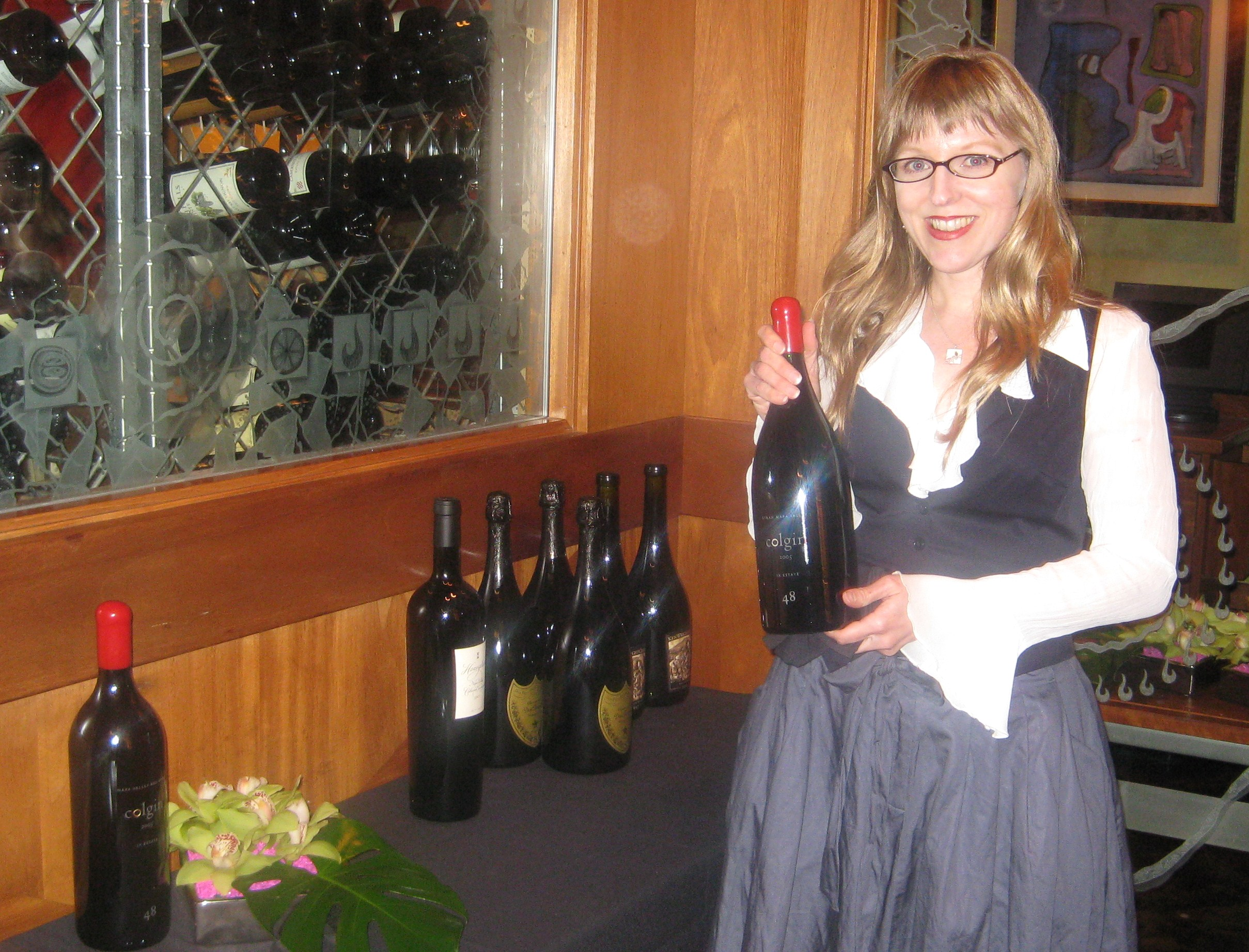 CUT restaurant Wine Director Dena Farner