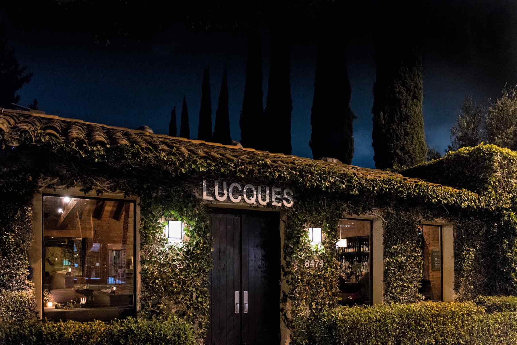 Lucques Los Angeles Exterior