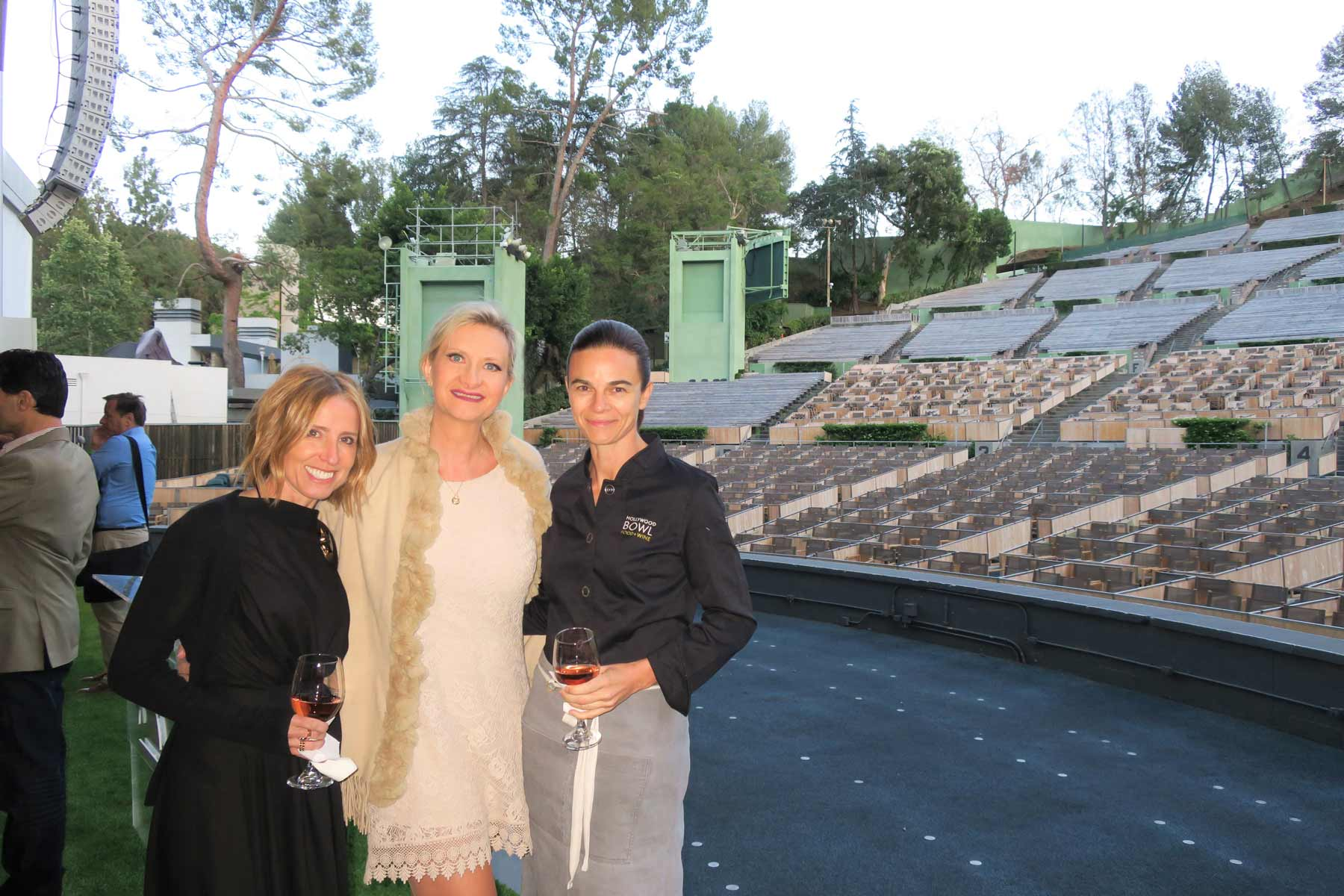 Suzanne Goin Caroline Styne Sophie Gayot Hollywood Bowl