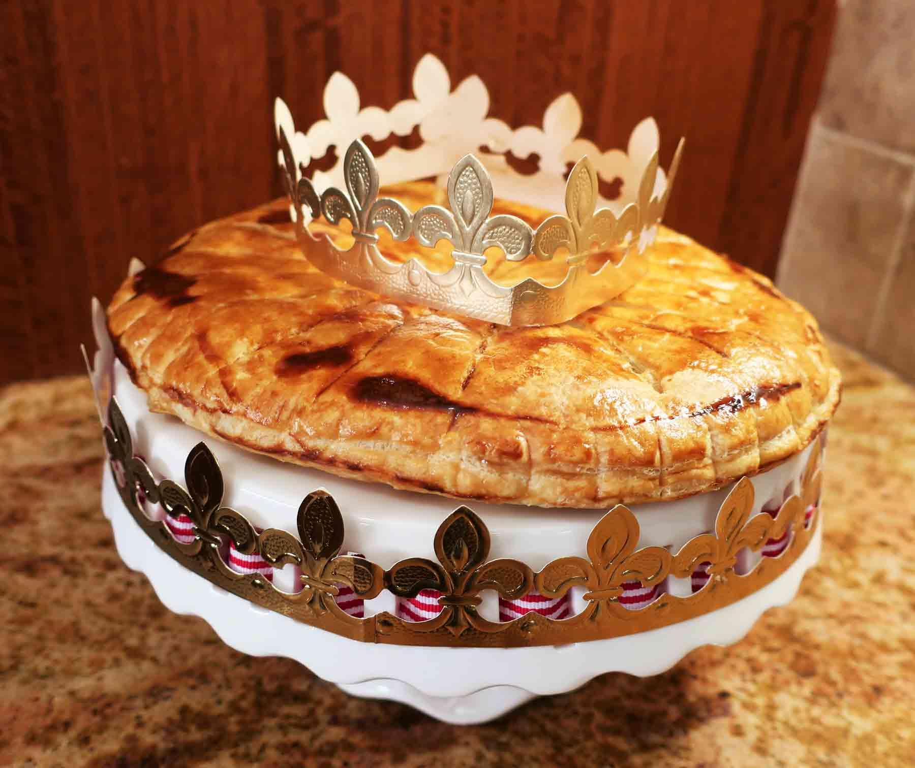 Galette des rois crown couronne