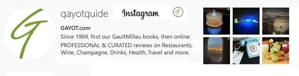 GAYOT Guide Instagram Account Bio Links