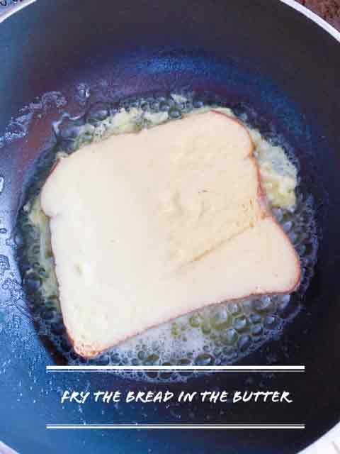 fry the bread