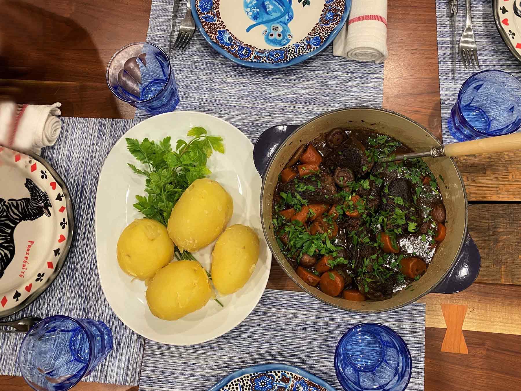 Chef David Féau Beef carrots