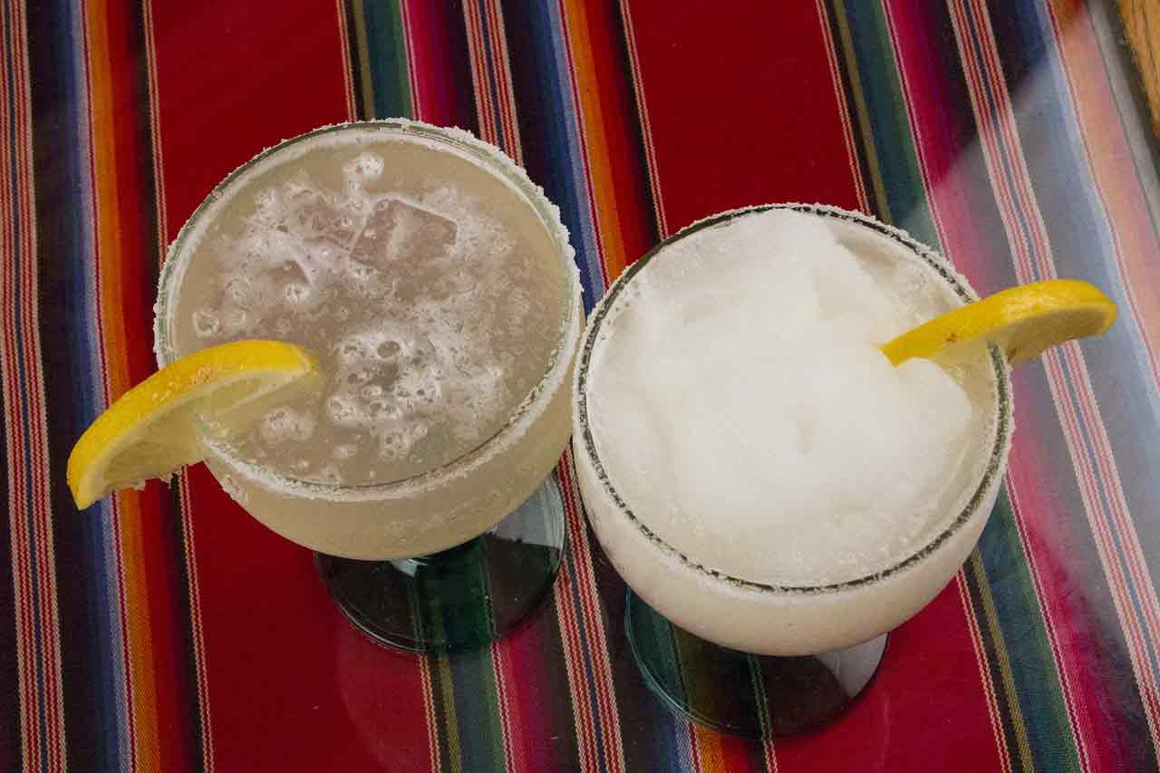 Carbonated margarita recipe