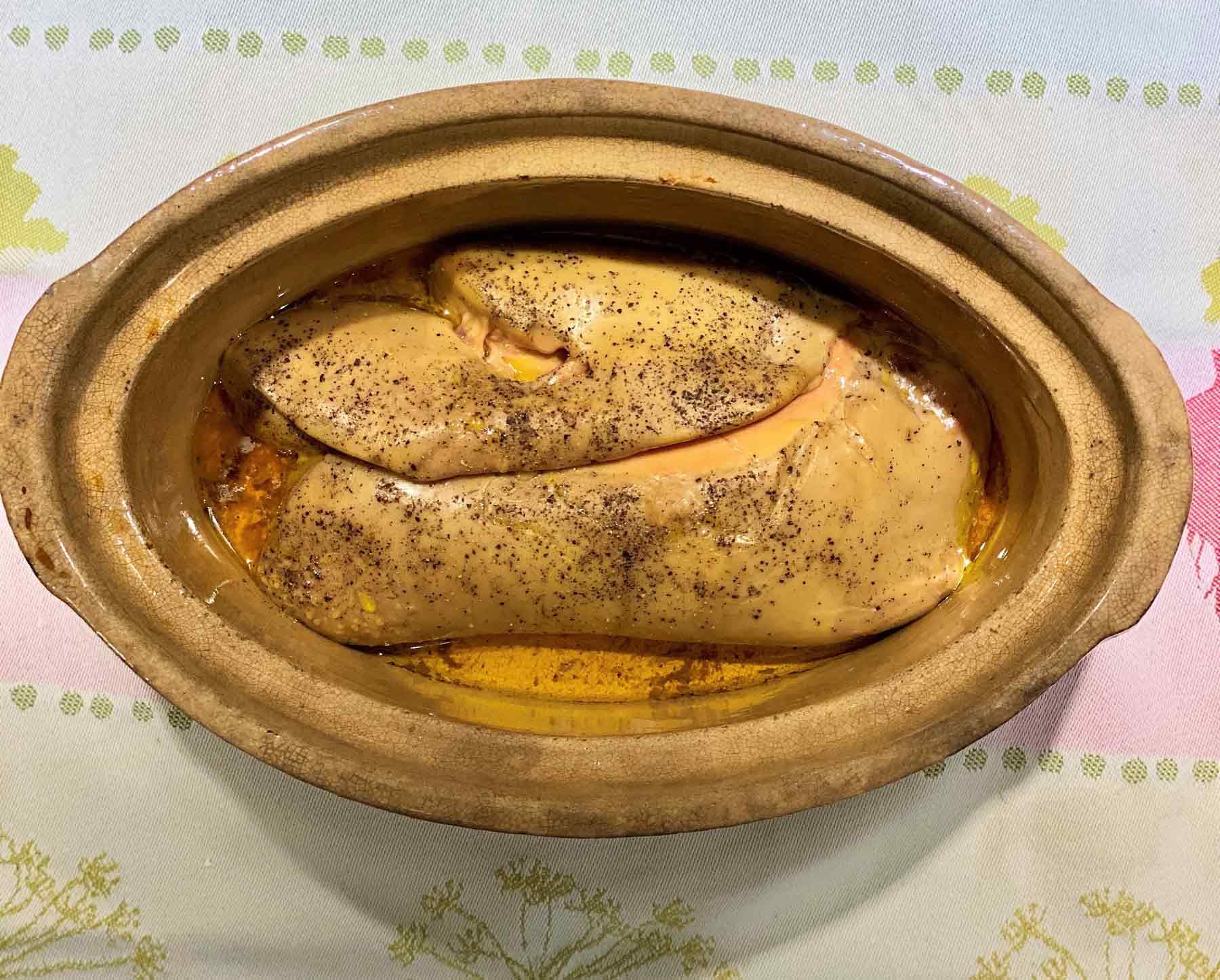 foie gras melted fat