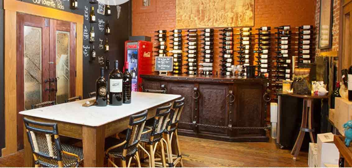 Napa Sonoma Best Wine Stores