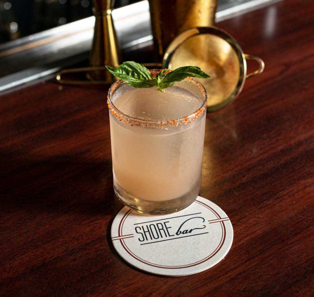 Milo bu  cocktail Shorebar Santa Monica