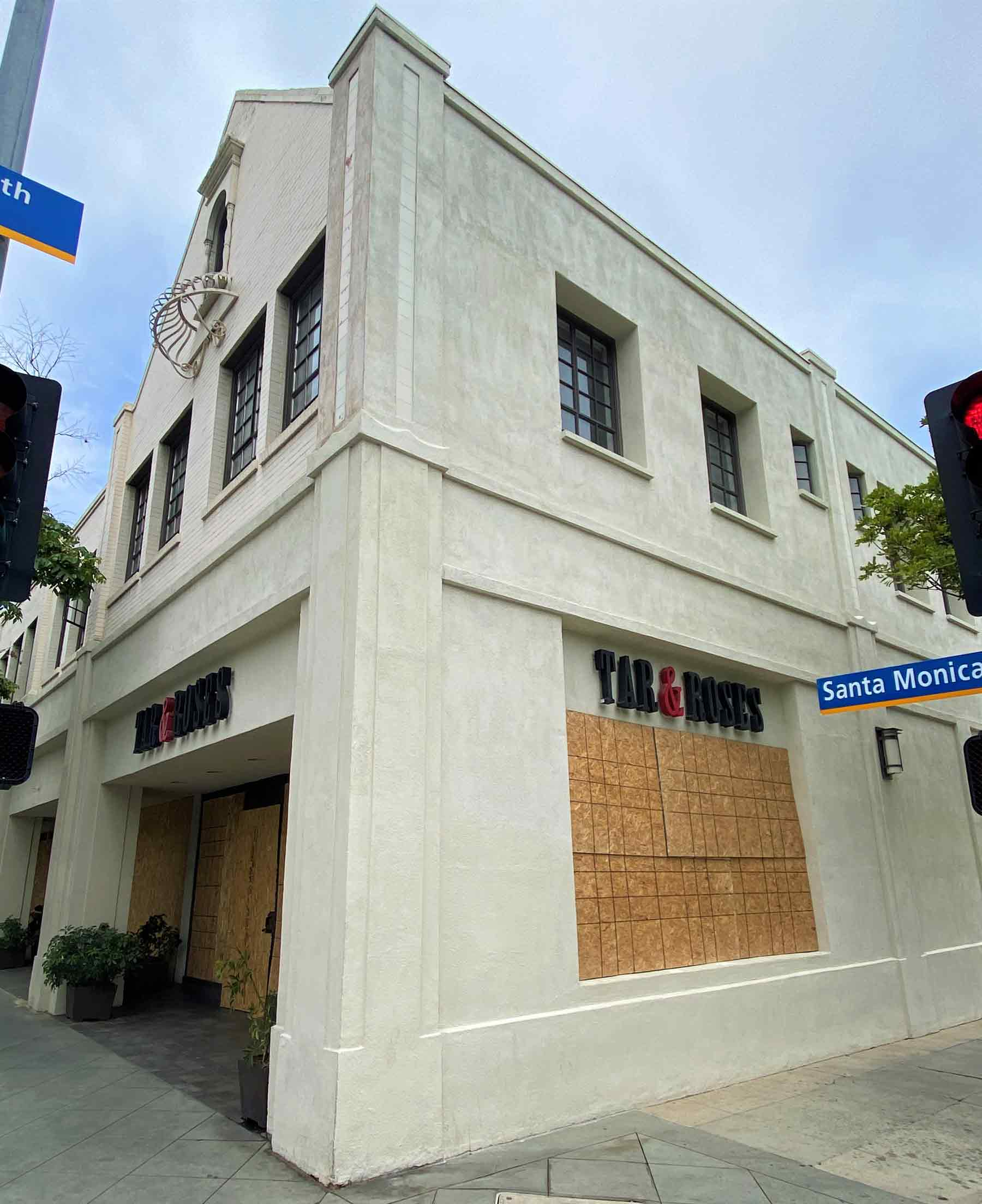Looting In Santa Monica May 31 2020