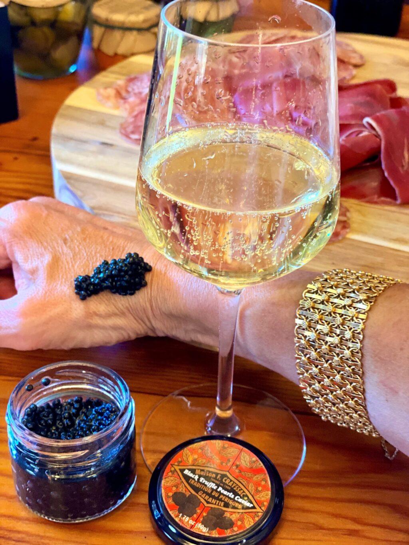Black truffle caviar