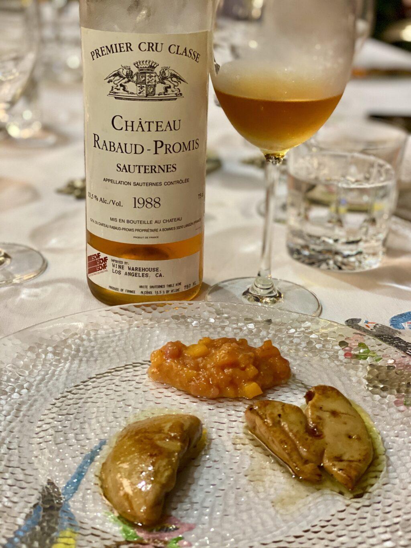 Château Rabaud-Promis, Sauternes 1988