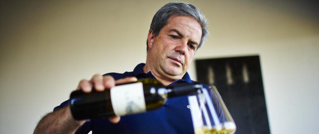 Winemaker Luigi Maffini, Cilento Italy