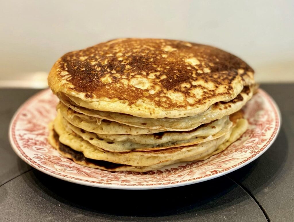Sourdough Buttermilk Pancakes