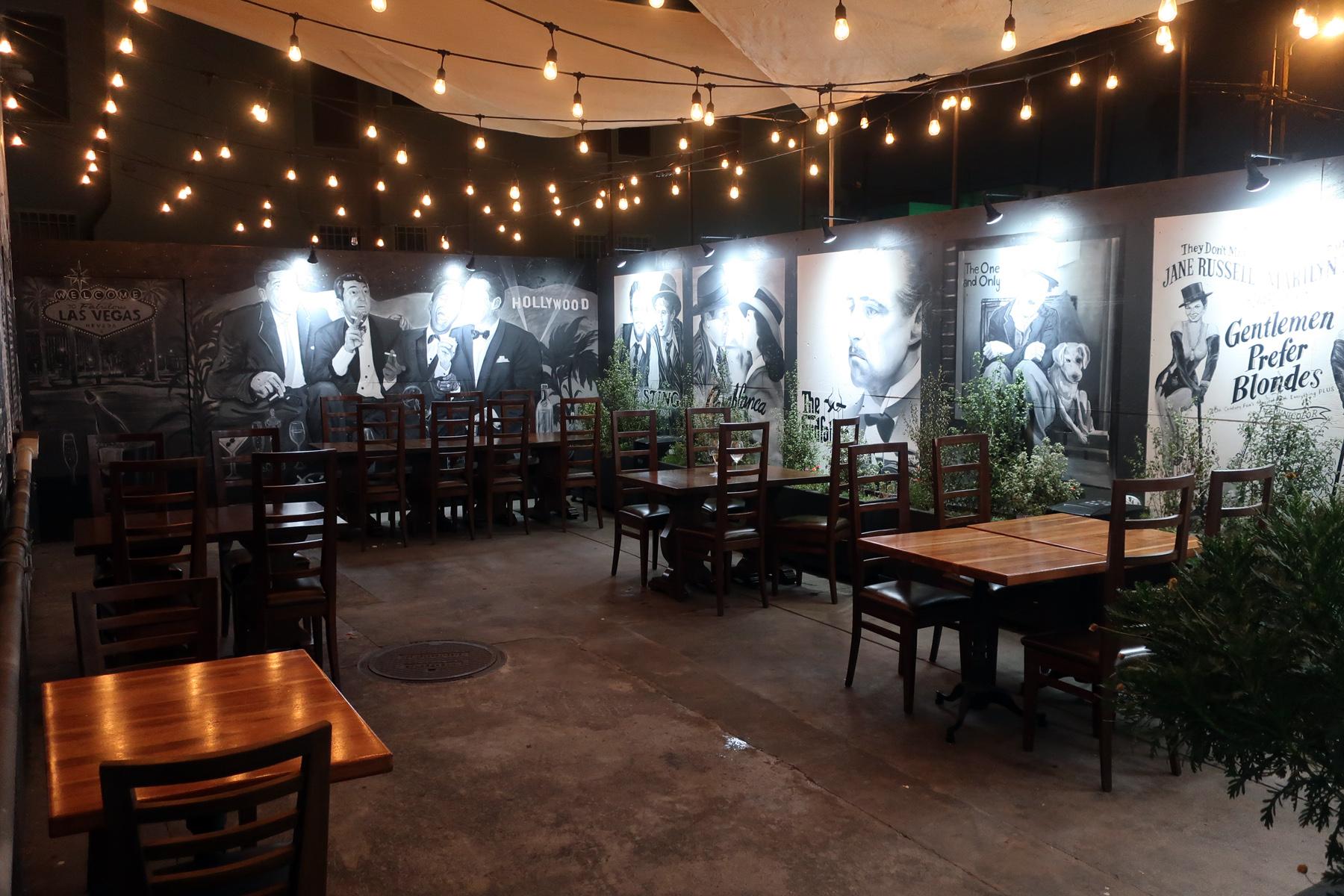 Della Terra Los Angeles Patio Mural