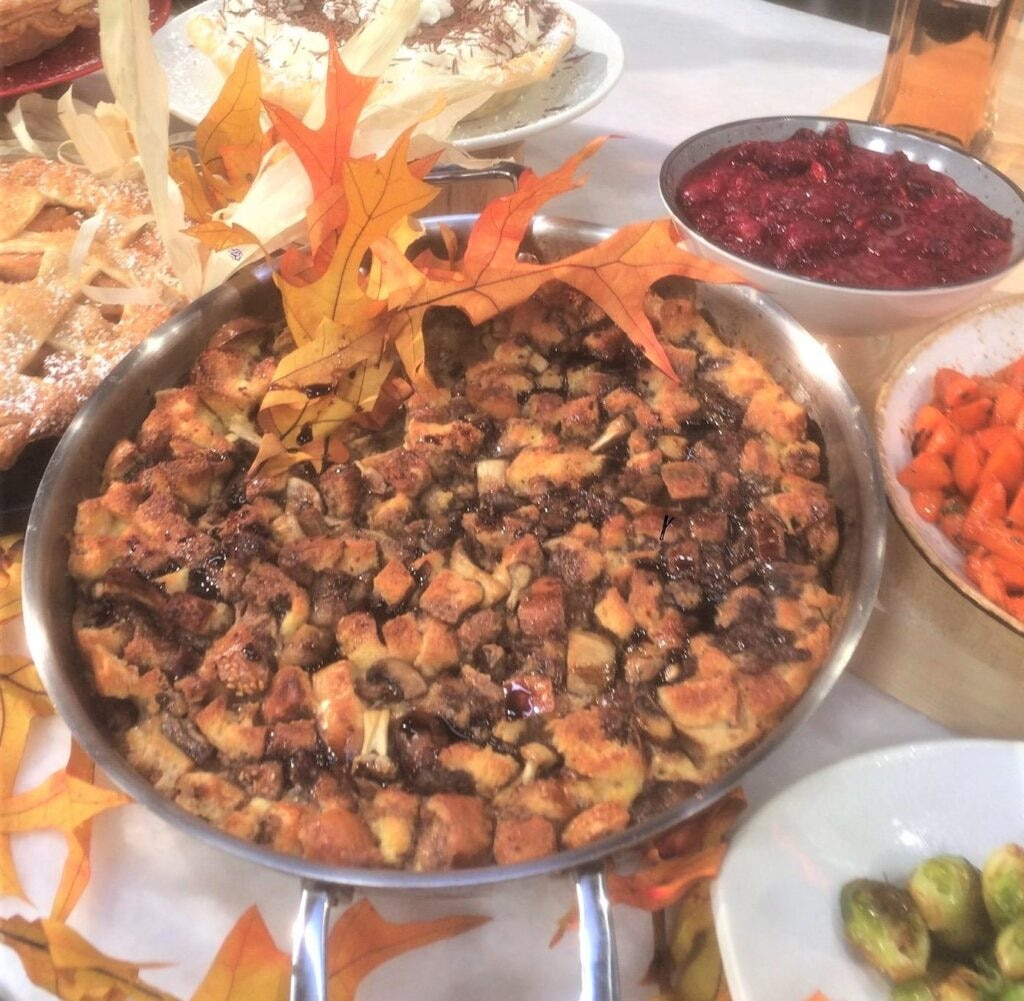 Turkey Stuffing recipe Chef Wolfgang Puck