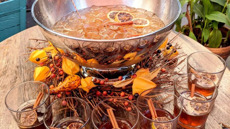 Thanksgiving cocktail   Pilgrim punch
