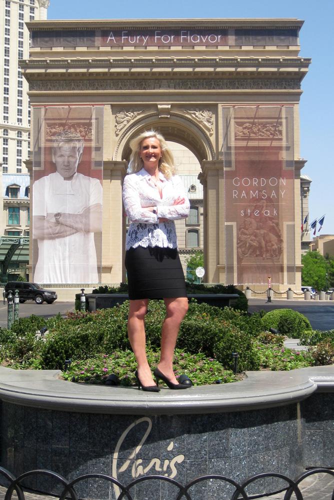 Arc de Triomphe Las Vegas Sophie Gayot