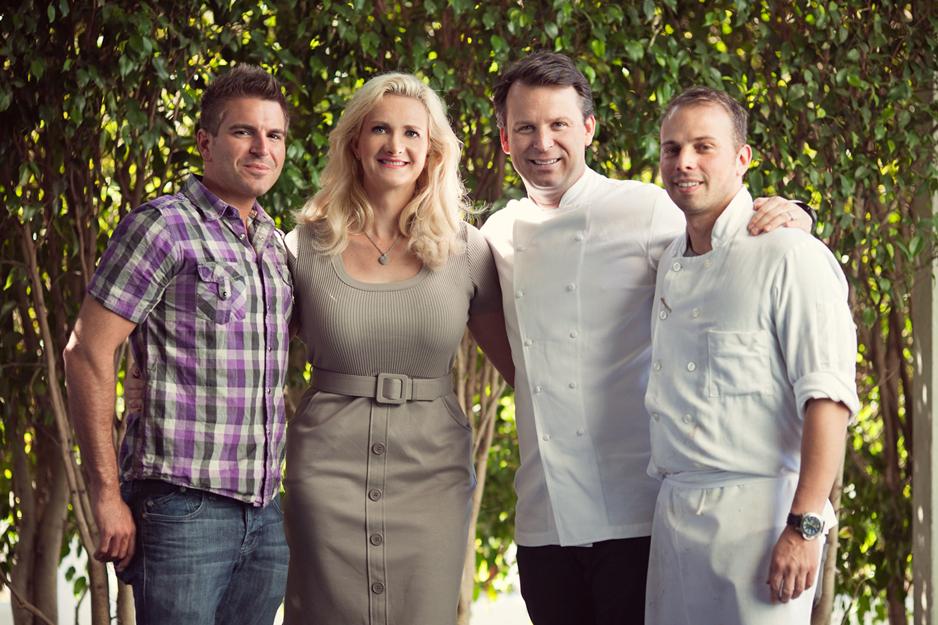 Chefs Chris Crary, William Bradley, Tony DiSalvo | Sophie Gayot