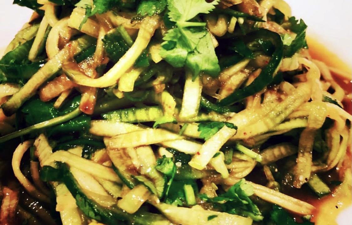 Cucumber detox salad