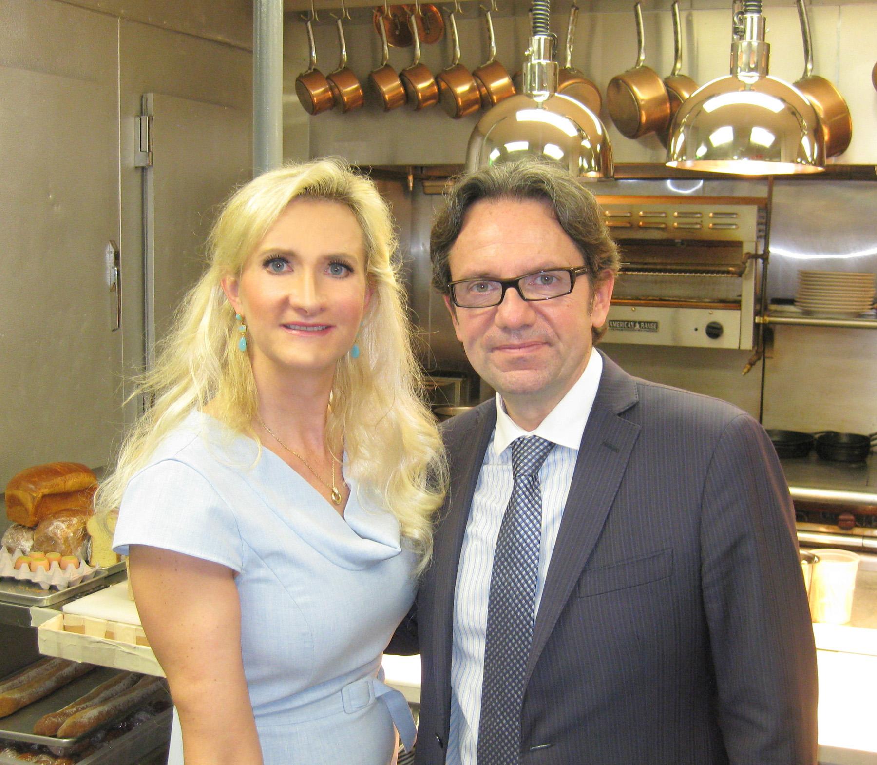 Frédéric Lefebvre with Sophie Gayot