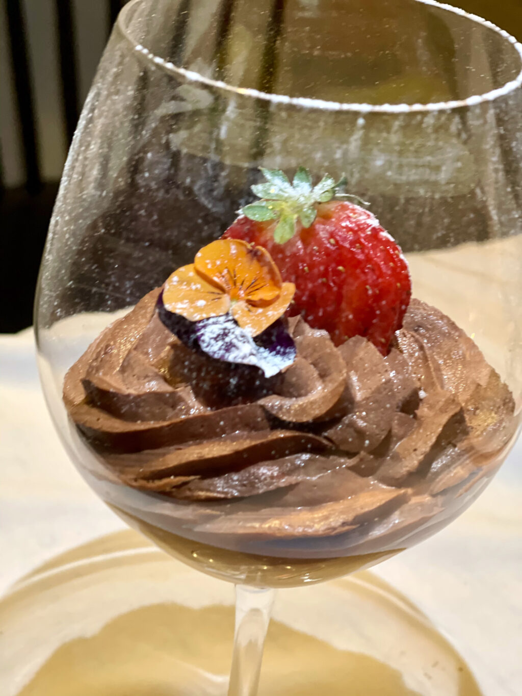 Belgium chocolate mousse