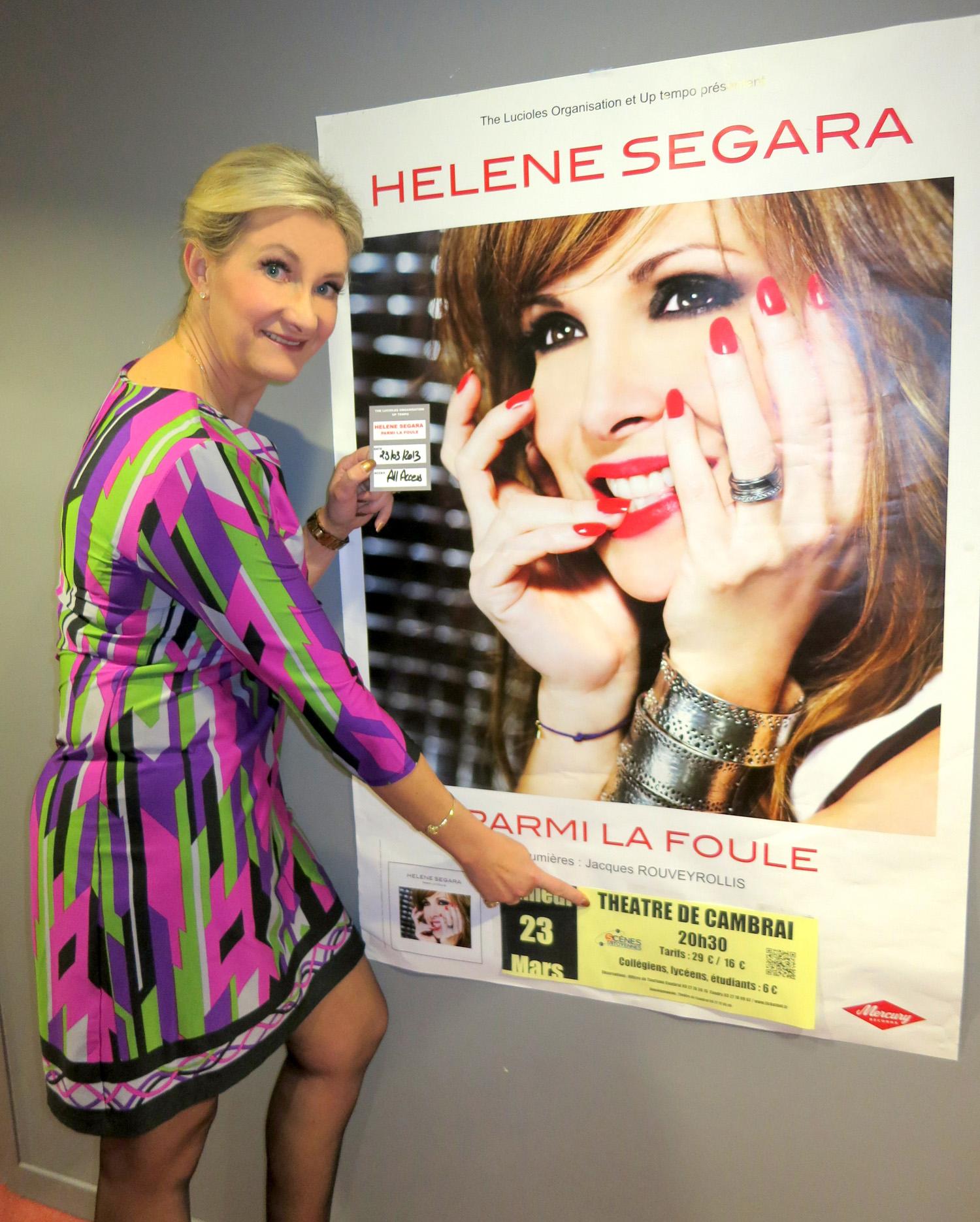 Hélène Ségara Concert Parmi La Foule