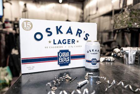 Oskar Blues Brewery Oskar's Lager